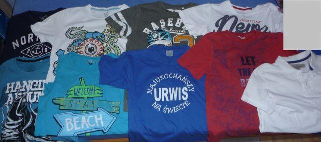 Ubrania chłopięce - zestaw ,t-shirt rozmiar 146-152