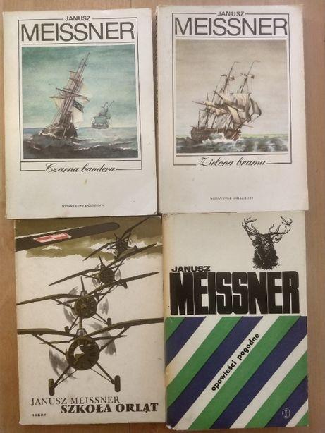 Szkoła orląt,Czarna bandera,Zielona brama,Opowieści Janusz Meissner