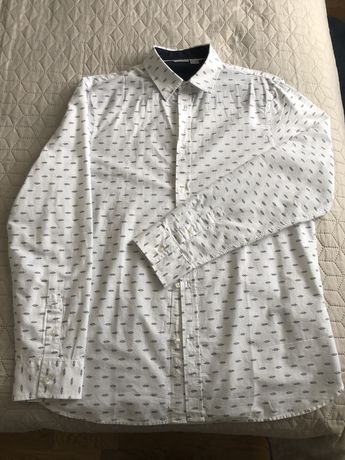 Koszula męska biała r. M