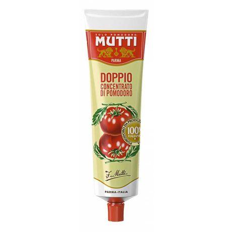 Томатна паста Mutti Doppio концентрована 130г