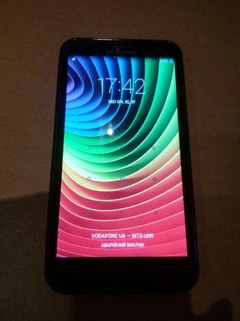 Смартфон Lenovo А-916 чорного кольору. Android 4.4.2.