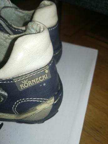 Buty skórzane Kornecki r. 22