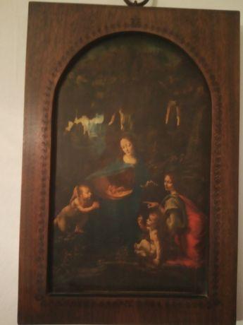 Vendo quadro antigo de 1519 de Leonardo da vinci
