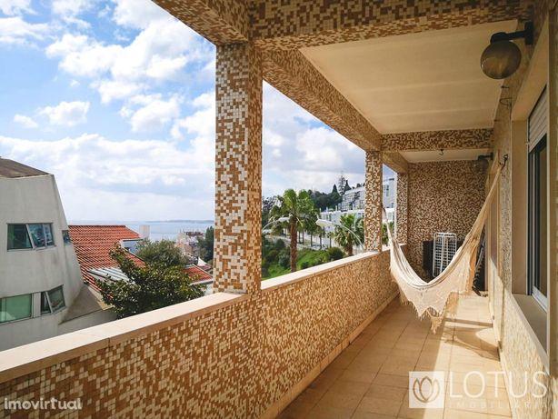 Dafundo: Apartamento T3 com vista Rio