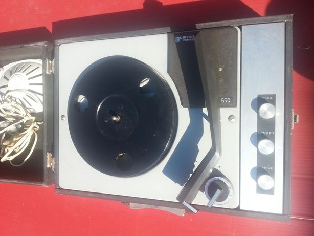Gramofon Unitra Fonica W550
