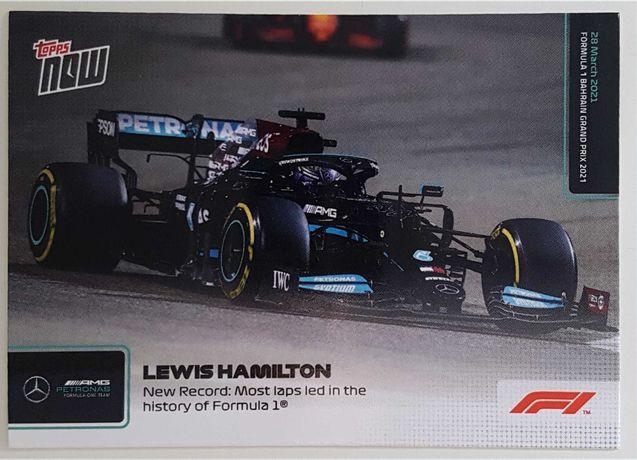 Topps Now F1 Formula 1 2021 Cartas #1 - #3