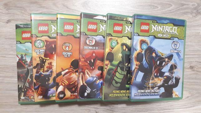 Lego Ninjago bajki DVD filmy