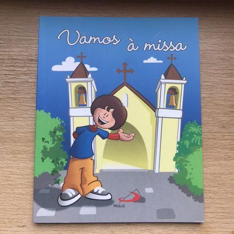 Livro infantil vamos à Missa novo