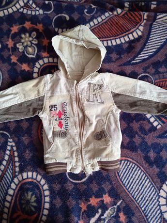 Курточка тканини вільвет