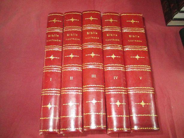 A Biblia Sagrada ( Colecção 5 Livros )
