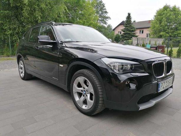 BMW X1 2009r Xdrive czarny bezwypadkowy