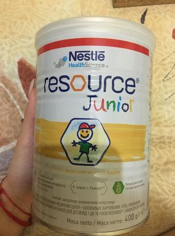 Смесь Nestle Resource Junior от 1 до 10 лет 400 г