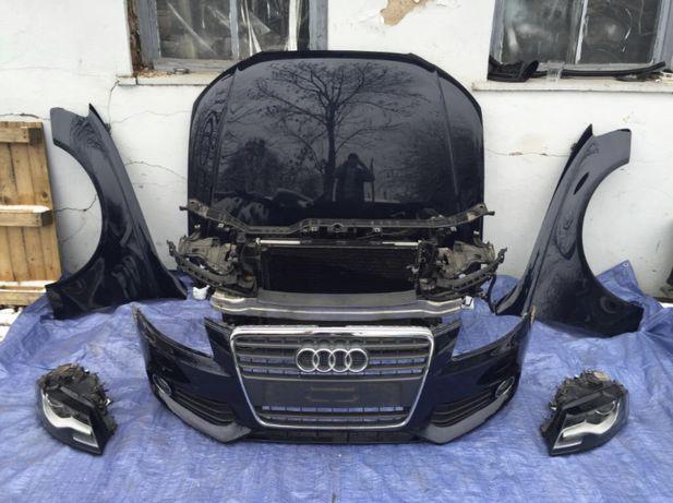 Audi A4 B8 крило капот дверь двері бампер дзеркало зеркало фара
