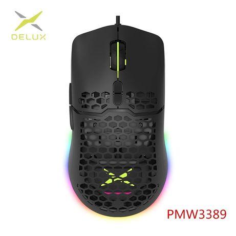 Комп'ютерна ігрова миша Delux M700 сенсор PMW3389
