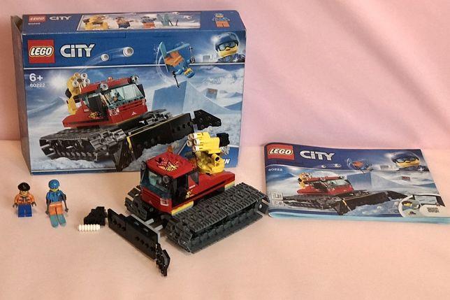 Lego 60222 pług gąsienicowy