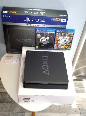 Konsola PlayStation 4 Slim 1TB,Edycja Limitowana+2 GRY