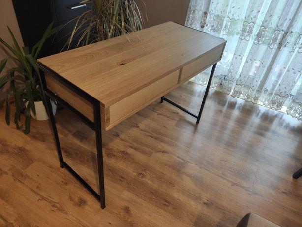 Sprzedam biurko drewno i metal