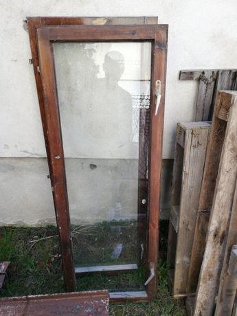 Okno skrzydło drewniane 2szt