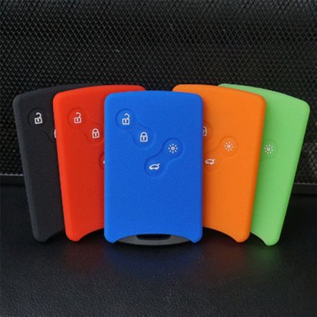 Capas em silicone para cartão Renault,Megane 3 ,Renault Senic, clio