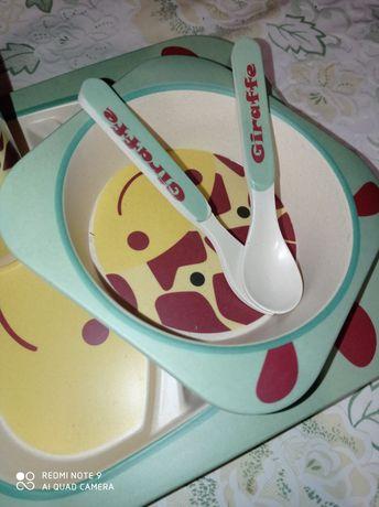 Дитячий посуд (не скло!)