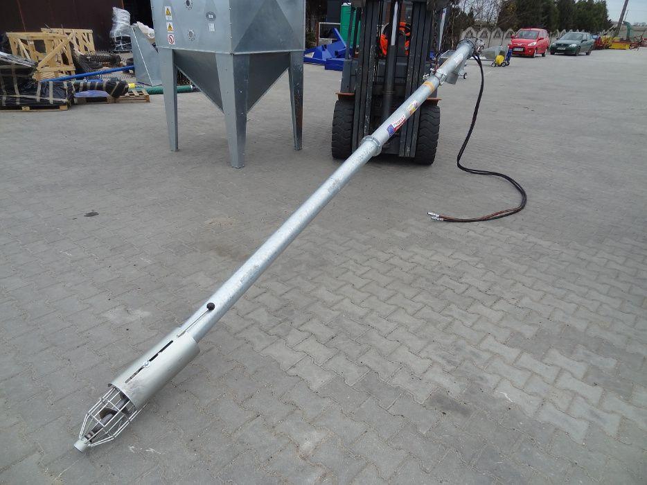 Przenośnik Żmijka Hydrauliczna FI 110 4,4m Dakowy Suche - image 1