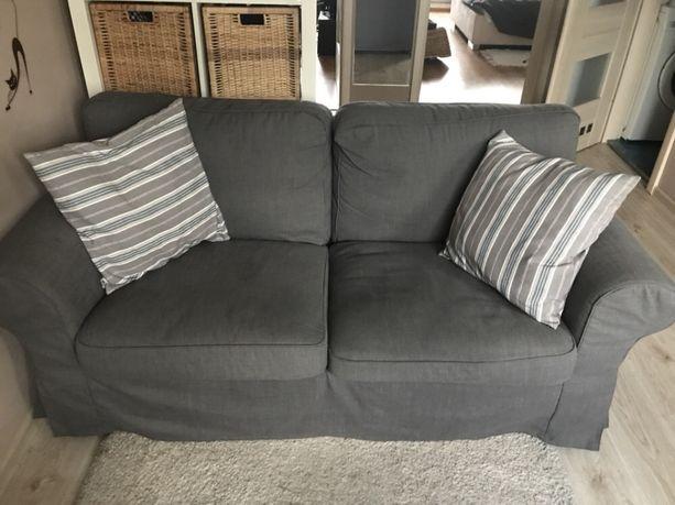 Sofa 2-osobowa IKEA - Ktrop + dodatkowe pokrycie