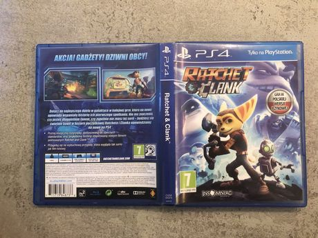 Ratchet and Clank gra na PS4 Playstation 4