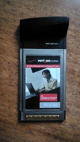 3G PCMCIA карта під оператора Інтертелеком Qualcomm PC5740 + Бонус
