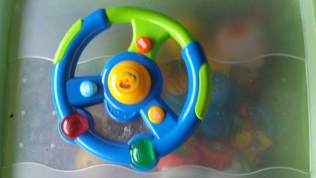 Kierownica zabawka sensoryczna