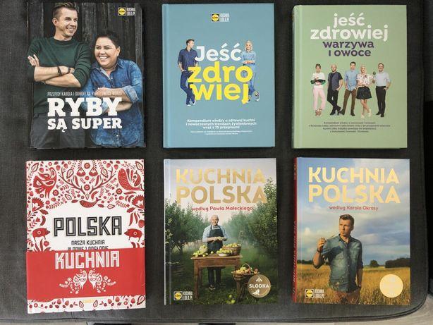 Książki KULINARNE komplet - w tym Polska Kuchnia