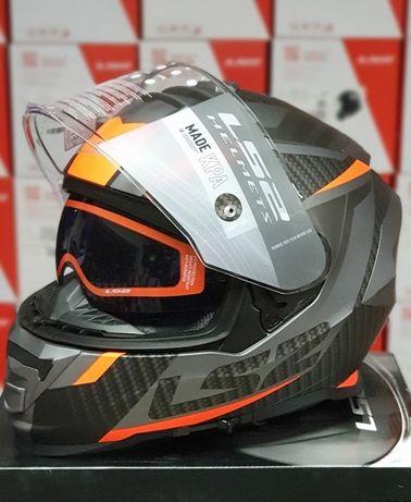 Мотошлем LS2 FF800 STORM (шлем с очками и pinlock): ls2.com.ua