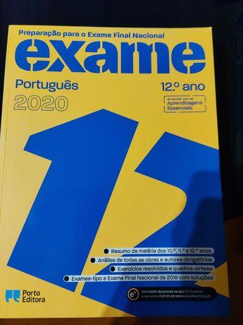 Vendo 2 livros preparação para exames Nacionais 12 ano