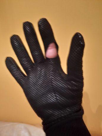 Rękawice skórzane do jazdy konnej angielskiej firmy Dents roz. 8 1/2