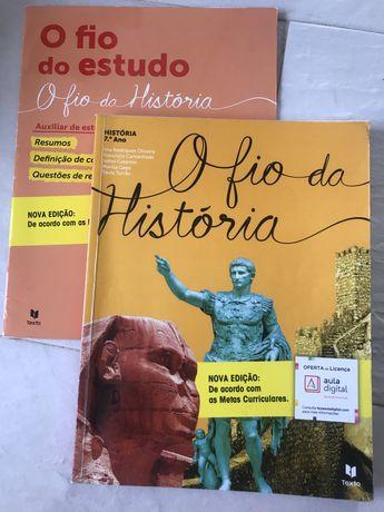 Manual+Auxiliar de Estudo O fio da História 7 ano