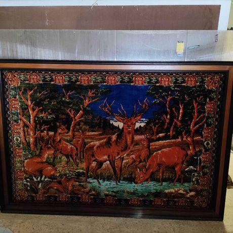 Quadro raridade tapeçaria