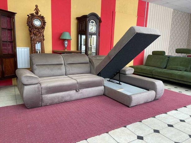 Новый диван ткань велюр Польша Кожаный шкіряний с Европы