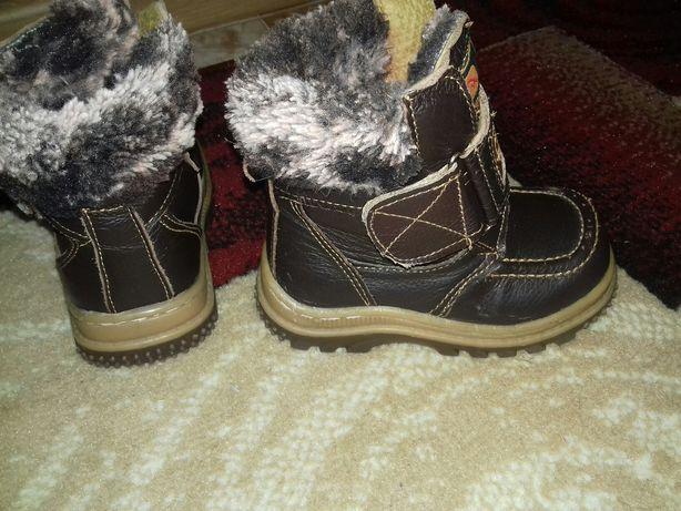 Продаю зимові черевички на хлопчика