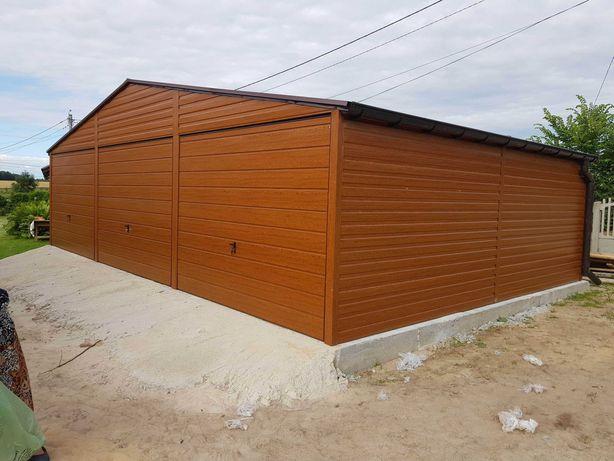 Garaże Drewnopodobne Garaż 9x6 Producent