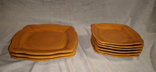 Parte Serviço Jantar Cerâmica Solimene Vietri 3
