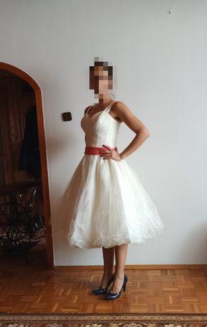 Suknia ślubna sukienka bal piękna