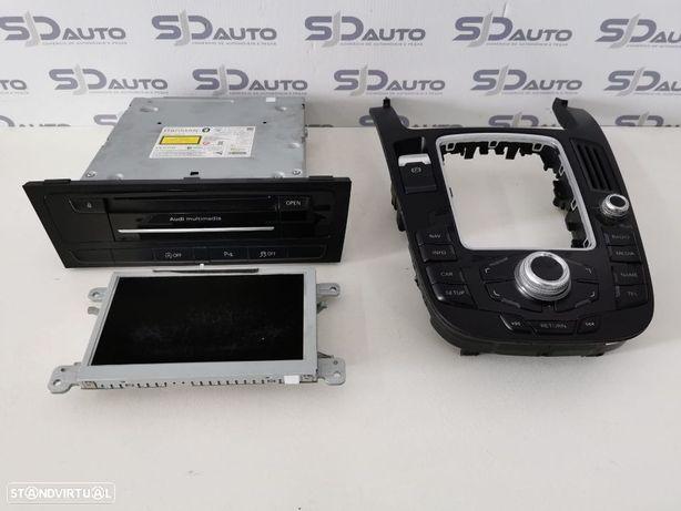 Conjunto de Navegação GPS - Audi A4 B8