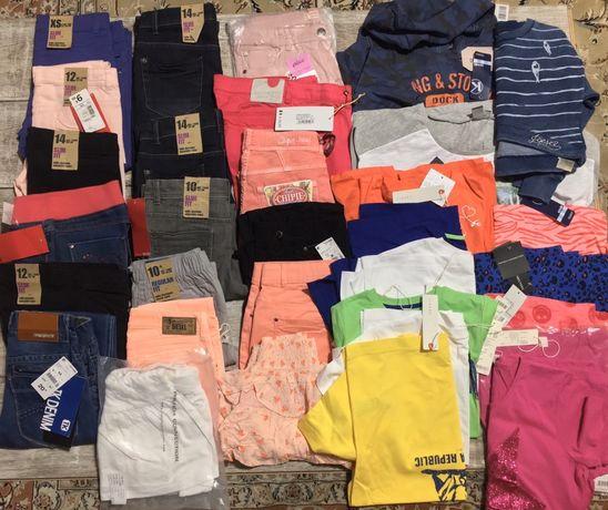 Лот опт микс детской подростковой одежды 10-16 лет