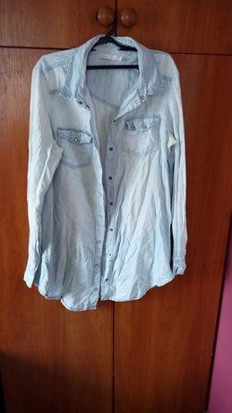 Koszula jeansowa , tunika