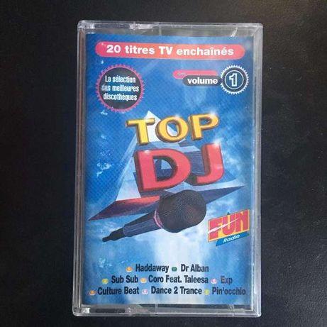Cassette Música - Top DJ: OS Melhores Temas De Música Vol. 1