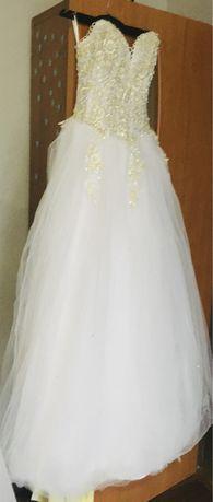Свадебное платье+подарок)