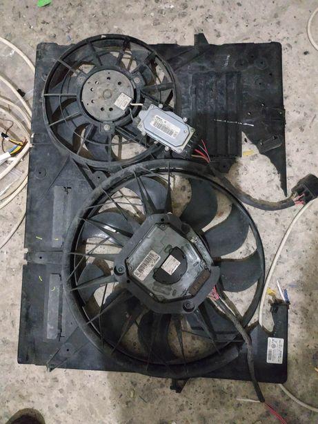 Audi q7 вентилятор радиатора охлаждения двигателя touareg VW