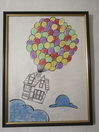 """Картина  """"Воздушный дом"""""""
