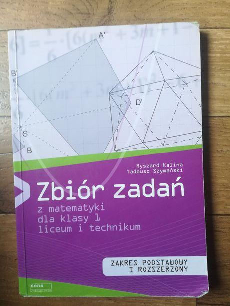 Zbiór zadań z matematyki dla klasy 1 liceum i technikum, wyd. Sens