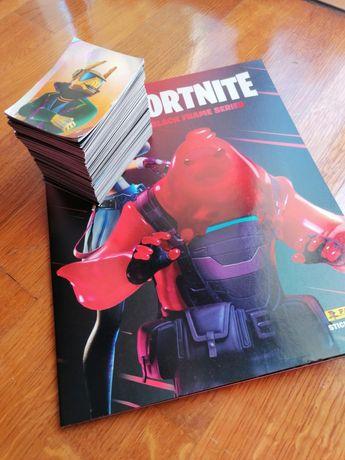 Caderneta Fortnite (Black Frame Series)