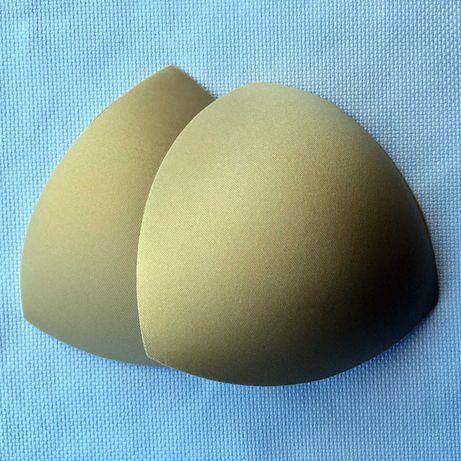 Copas triangulares de enchimento amovíveis para soutiens,bikinis, etc.